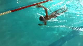 обучение плаванию Артем 8 лет swimmingcoach.club