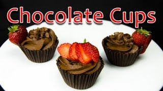 How To Make Chocolate Cups By Cookies Cupcakes And Cardio