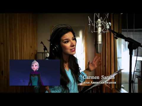 FROZEN - Let It Go Multilanguage Clip In Studio | Meerdere Talen Disney Official HD 1080p