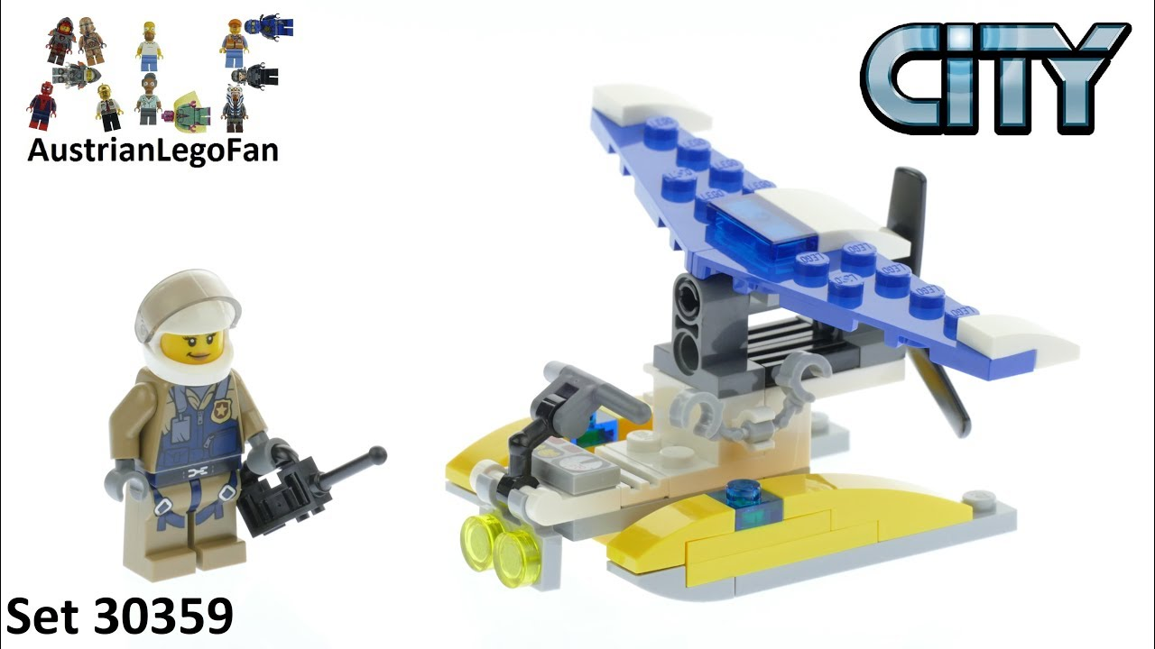 Lego City 30359 Mountain Police Water Plane