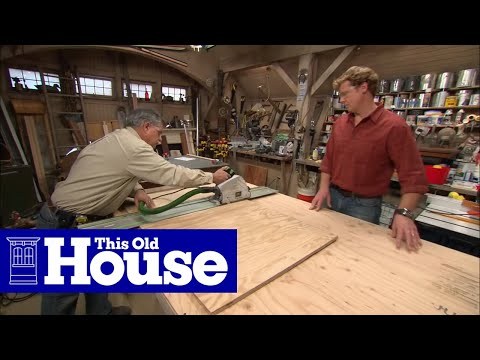 How to build a utility cart this old house youtube Home styles natural designer utility cart