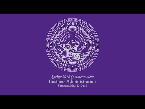Business Administration   Spring Commencement 2018
