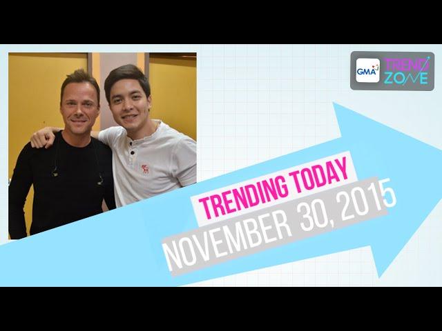 Trendzone - November 30, 2015