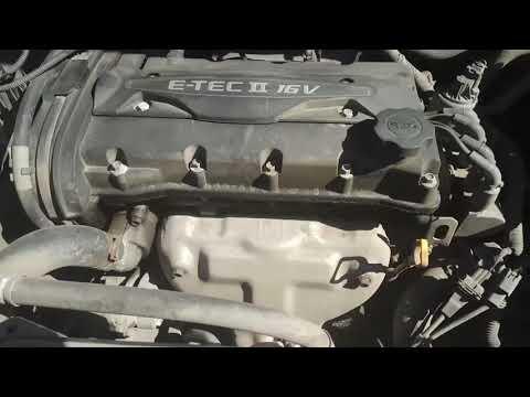 Замена прокладки клапанной крышки Chevrolet Cruze