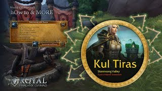 hOw to-Battle for Azeroth 8.0-Stormsong Valley in Kul Tiras-Cycle of Hatred Questchain-PART 07