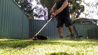 Mowing with the whippy