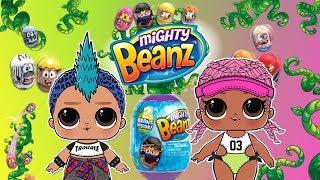 LOL Surprise & Mighty Beanz  Gra w fasolki  Challenge  bajka po polsku