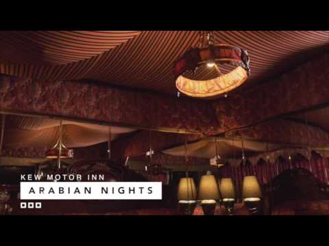 Arabian Nights Room at the Kew Motor Inn - YouTube