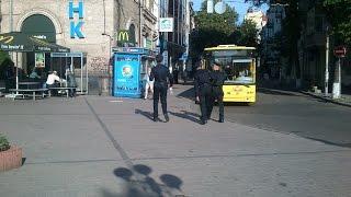 Новый полицейский патруль Киева