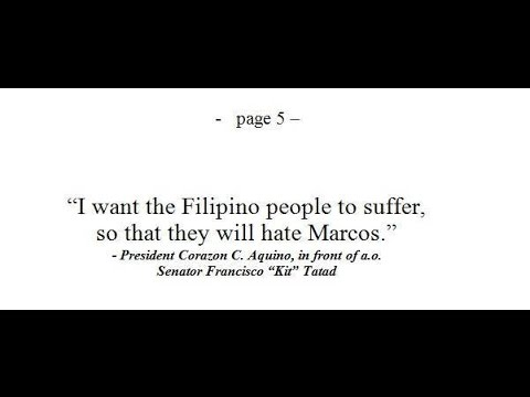 Marcos Last Will and Testament