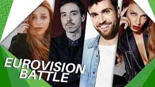 Eurovision BATTLE   2021 vs 2020 vs 2019 vs 2018 (My Favourites)