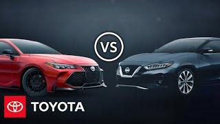 homepage tile video photo for 2020 Avalon vs 2020 Maxima: Premium Sedan Comparison | Toyota