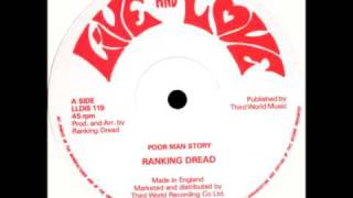 Ranking Dread - Poor Man Story (12 inch)