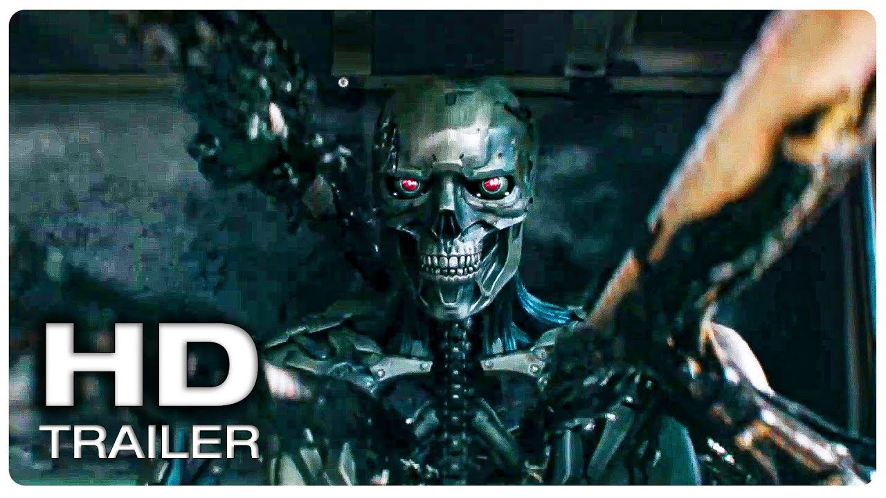 Rev-9 Vs Grace - Chase Fight Scene | TERMINATOR 6 DARK FATE (2019) Movie CLIP HD