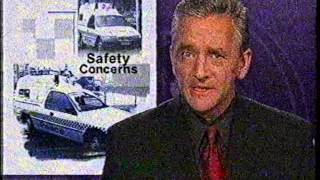 Victoria Police News Story VS Holden Commodore Divisional Van Safety Concerns - 2000