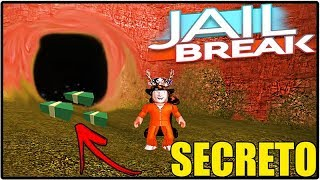 SECRET TUNNEL ON JAILBREAK!!! THERE'S MONEY???! ROBLOX