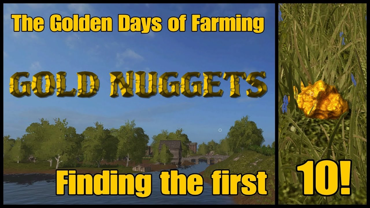 Farming Simulator 17 PS4: A Guide to... The Golden Days of ...