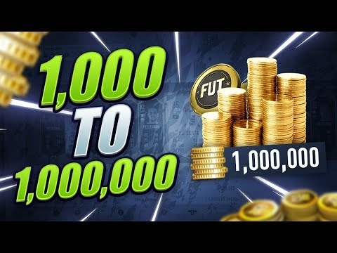 HOW TO MAKE 1 MILLION COINS! STEP BY STEP! (FIFA 20 TRADING METHODS)