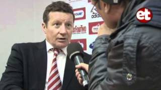 Danny Wilson Post Match