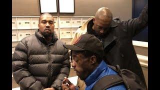 Kanye West & Lil Uzi Vert CAUGHT In STUDIO Cooking Up HEAT?