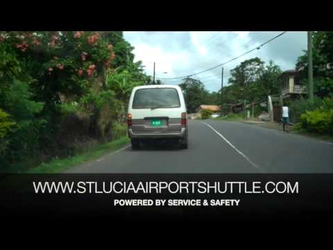 Airport Transfer From Hewanorra Airport UVF to Castries, Rodney Bay, Gros Islet, Cap Estate