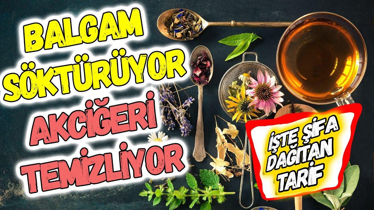 AKCİĞERLERİ TERTEMİZ YAPIYOR, BALGAMI SÖKÜYOR | GÜNDE 1 DEFA ALIN YETER.