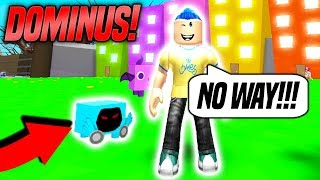 I GOT THE RAREST PET IN PET SIMULATOR! *DOMINUS* (Roblox)