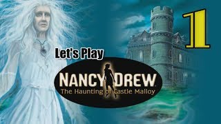 Nancy Drew 19: Haunting of Castle Malloy [01] w/YourGibs - JUMP SCARE TO IRELAND - OPENING - Part 1