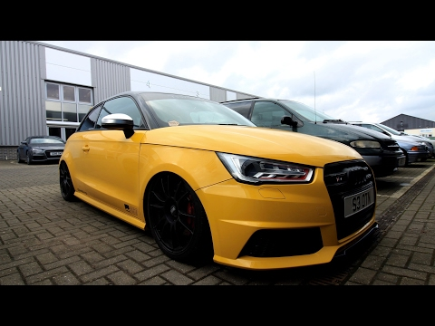 Savage Audi S1 on Airrex suspension and Remus exhaust First Impressions and Review
