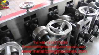 omega light keel roll forming machine for Ceiling Omega channel metal track