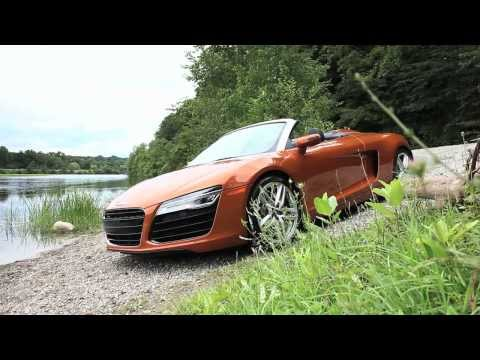 Audi R8 Spyder - Up Close & Personal - CAR and DRIVER