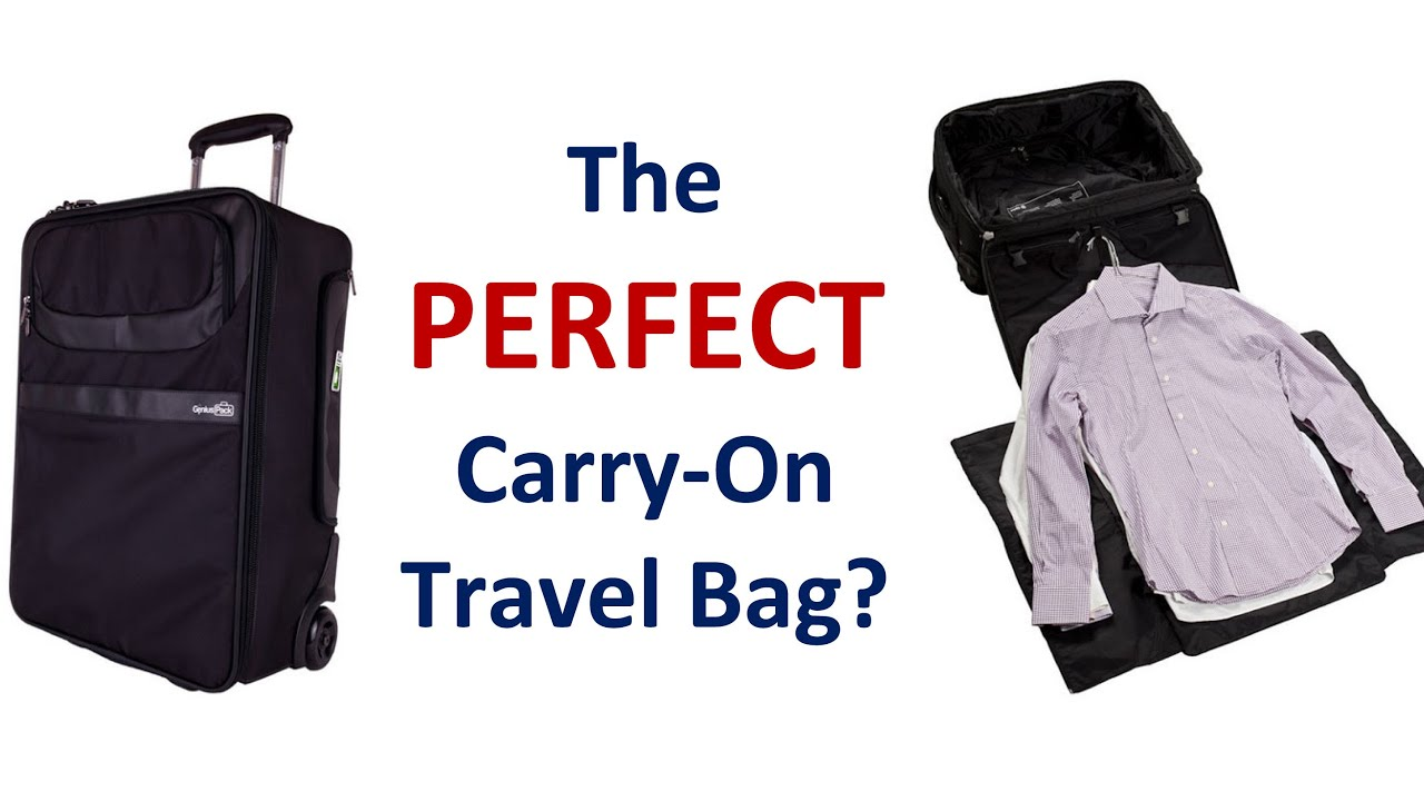 How to buy the perfect carry on bag business luggage How to pack a carry on suitcase video