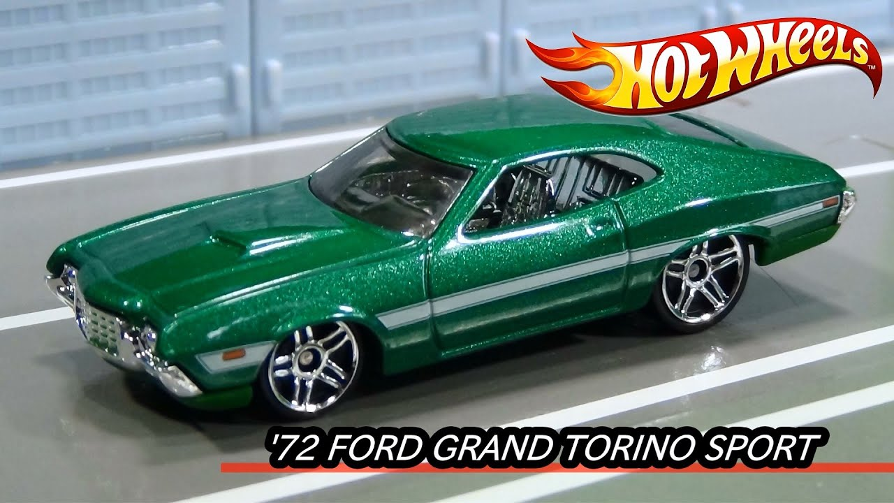 Hot wheels fast and the furious 72 ford grand torino sport