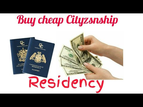 Buy cheap Cityzsnship Second Passport Or Residency