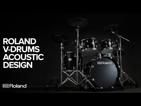 Roland V-Drums Acoustic Design Electronic Drum Kits: VAD506, VAD503, VAD306