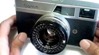 キャノン キャノネットの使い方 CANON Canonet the first How to use 1960s Rangefinder camera