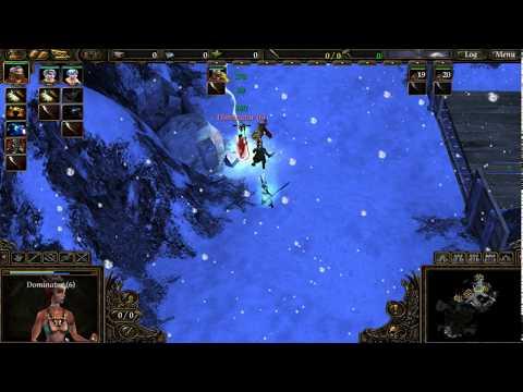 Spellforce 2 Dragon Storm Walkthrough Part 1 - Winterlight Peak