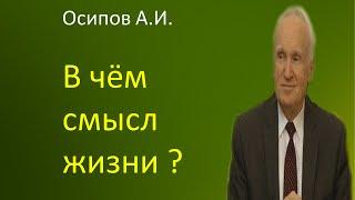 Осипов А.И.|В чём смысл жизни?