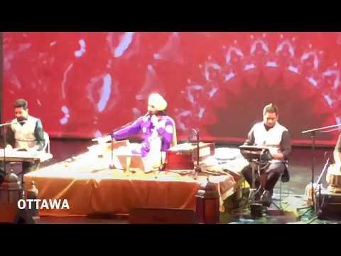 #CanadaTour2018 #Sai nal ho geya aaghaz ji #Canada da- Montreal , Ottawa | Satinder Sartaaj