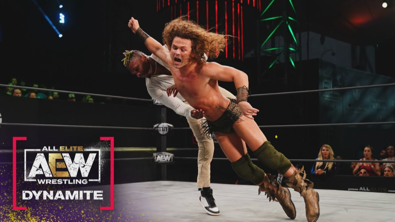 Jungle Boy and Christian Cage Tag for the First Time Ever | AEW Friday Night Dynamite, 6/4/21