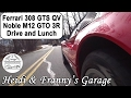 Ferrari 308 GTSi QV EURO and Noble M12 GTO Drive and Lunch!