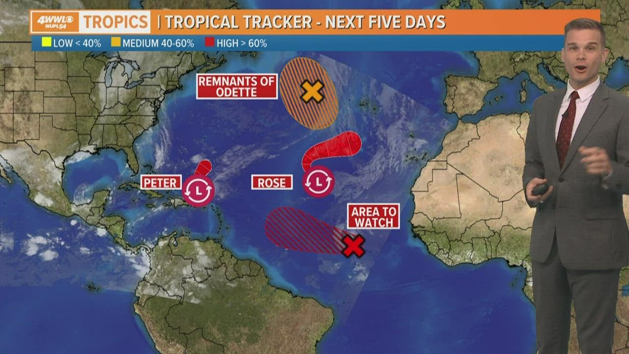 Hurricane Sam forms in Atlantic, expected to reach Category 4