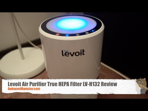 Levoit Air Purifier True Hepa Filter Lv H132 Review Youtube