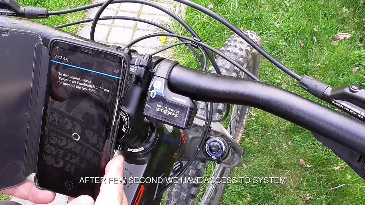 Shimano Steps E7000 Bluetooth pair connect 2019 SCE7000 SW-E7000-L , Kellis  Theos 50