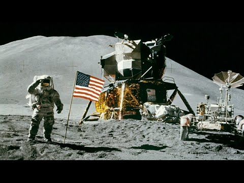 Apollo Moon Landing 1969 Recovered Video Footage - YouTube