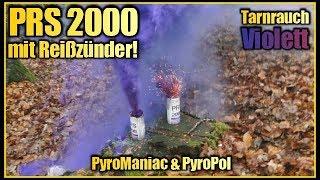 Tarnrauch Violett mit Reißzünder | PRS2000 von Pyroland | PyroManiac & PyroPol