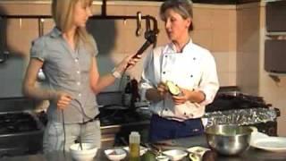 Салат из куриной печени и авокадо