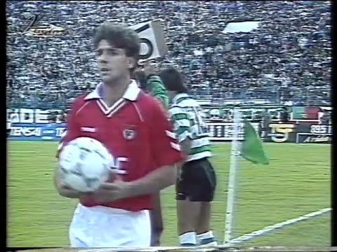 Sporting - 0 x Benfica - 2 de 1990/1991