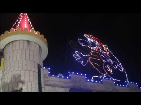 dutch wonderland holiday and christmas decorations lights and displays attraction tube hd