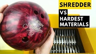 TOP 10 HARDEST THINGS IN THE SHREDDER | SHREDDING THE TOUGHEST MATERIALS!